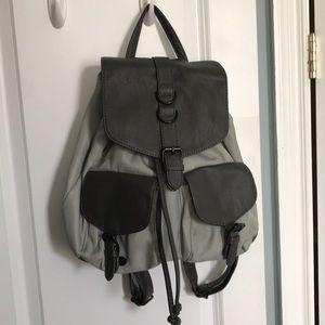 Steve Madden gray backpack